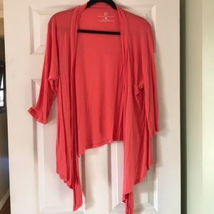 New York & Company Sweaters - Quarter Sleeve Hi-Low Cardigan